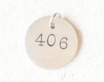 406 Pendant Necklace