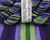 Iris Ensata - LIMITED EDITION - Hand-dyed Self-striping sock yarn