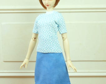 Outfit for BJD Delf Feeple 60 Girls
