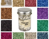 Stampendous Glass Glitter, 11 Glitter Color Choices