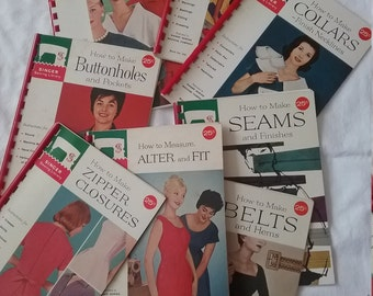 Lot of Singer Sewing Library How to Make Books Free Shipping