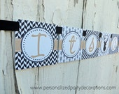 SALE-Deer Baby Shower Banner, It's A Boy, Deer Party Decorations, Boy Banner, Ships QUICK