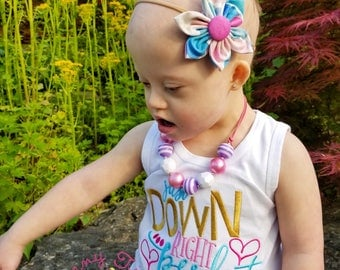 Down Right Perfect ~ Designer Genes Shirt ~ Down Syndrome Shirt ~ Down Syndrome Awareness ~ Special Needs ~ Chromosome ~ Awareness Shirt