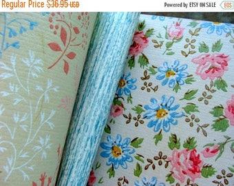 ONSALE Beautiful Vintage Unused Wall Paper Book