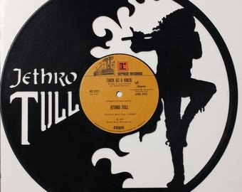 JETHRO TULL vinyl art