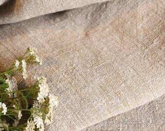 RW 514 antique PLAIN ROLL 4.37 yard upholstering runner cushion french grainsack fabric 26.38 wide 리넨 biological lin