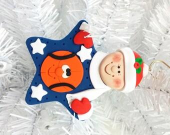 Basketball Christmas Ornament - Team Christmas Ornament - Personalized Ornament - Basketball Player Gift - Basketball Fan Gift - 12717