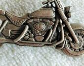 2Day Sale JJ motorcycle Brooch, Figural Pin,