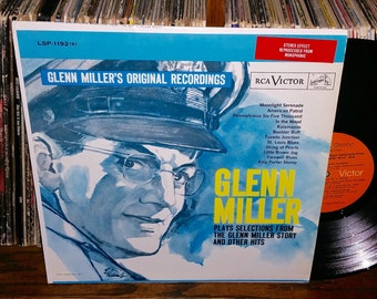 Glenn Miller Plays Selections From The Glenn Miller Story And Other Hits Vintage Vinyl Record