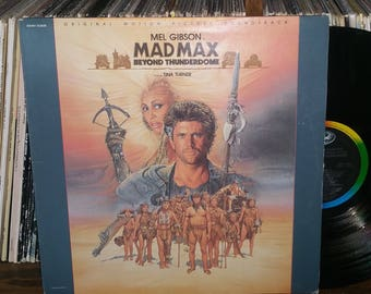Mad Max Beyond Thunderdome Vintage Vinyl Motion Picture Soundtrack Record