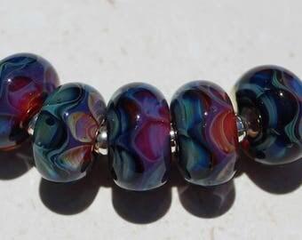 MOROCCO Artisan boro beads by JRG