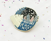 Limited Edition Creature of the Night Enamel Pin
