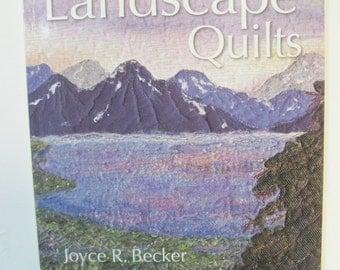 Quick Little Landscape quilts by JoyceR. Becker Quiltsy destash
