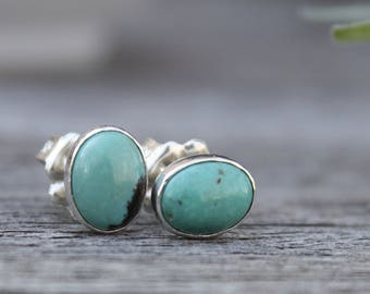 Sterling Silver Ear Studs - Reserved Listing for Galina