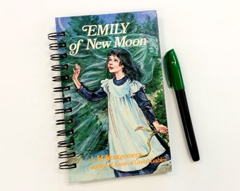 Emily of New Moon, Recycled Book Journal, Notebook
