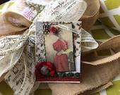 Happy Holidays Card - Merry Christmas Card - Handmade Card
