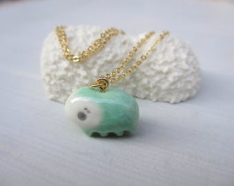 Petit Waterbear Pendant-grass green