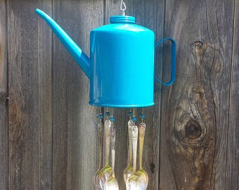 Vintage Oil Can Wind Chime