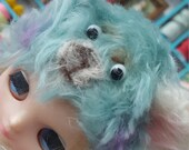 OOAK FLuffy hand made Helmet for Middie Doll