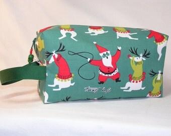 Unruly Reindeer Project Bag