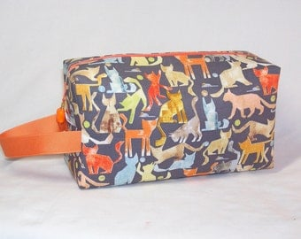 Playful Cats Project Bag