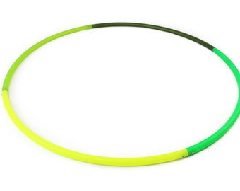 4 section multi colored PolyPro Hoop. Your choice of colors and design!