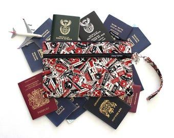 Family Passport Holder - Passport Cover - Travel Wallet - Passport Wallet - Travel Organizer - Boarding Pass Wallet - Large Passport Case