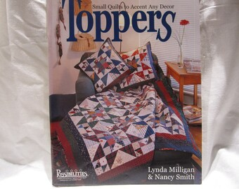 Destash--Quilting book with patterns, table runners, banners, learn to quilt