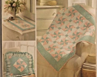 Simplicity 3703 Sewing Pattern Darlene Zimmerman EZ Quilters  Uncut  New