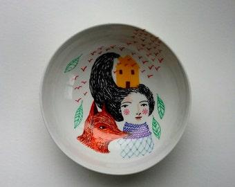 I belong here - bowl 6 x 6