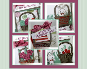Stampin' Up Basket Bunch Tutorial