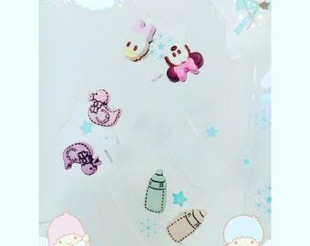 Orecchini baby toys topolino hand made
