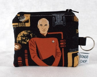 Captain Piccard Mini Wallet with ID Holder