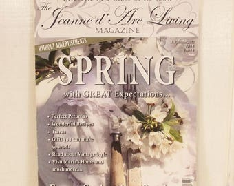 Jeanne D' Arc Magazine Lifestyle Magazine, Spring Issue 3 2012 in English, Inspiration Boards, Crafts