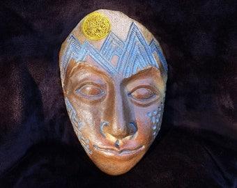 Moonrise over the Sierra Ceramic Mask