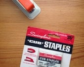 Swingline cub staples in box NOS office supplies