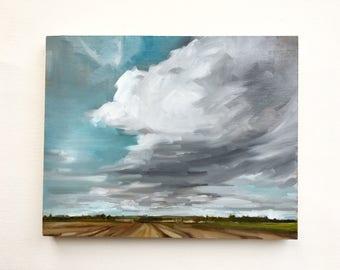 "Almost Spring • original oil painting 8 x 10"""
