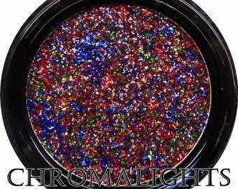 Chromalights Foil FX Pressed Glitter-Rainbow Confetti