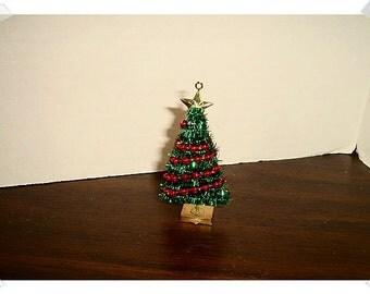 Miniature Artificial Christmas Tree* /Holiday Decor/ Minis/ Craft Supplies*