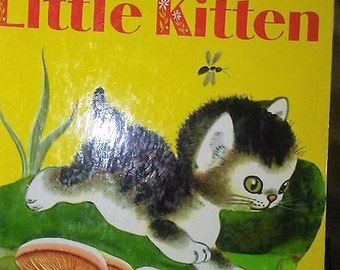 Sale-Little Golden The Shy Little Kitten 1972