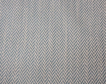 "Fabric Remnant,Nile Blue Textured Weave, 18"" x 38"", Greenhouse Fabrics. Ready to Ship. Free Shipping."