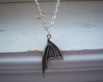 Bat Necklace - Goth - Halloween Necklace - Goth Necklace - Bat Wing Necklace - Wing Necklace - Free Gift With Purchase