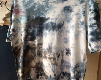 Ice Dyed Large T-Shirts