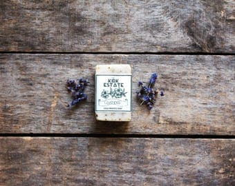 Lavender, small bar soap, cold process soap, organic ingredients, homemade soap, herbal soap, lightly scented, bath and body, natural soap