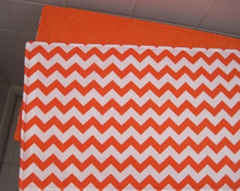 Orange Toilet Tank Runner Orange Chevron Toilet Tank Topper Orange/White Toilet Tank Runner Orange Toilet Tank Cover Orange Bathroom Decor