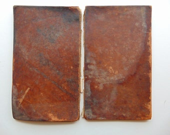 1808 Leather Book Covers Antique