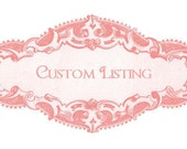 Custom Listing for Sevan Only... Custom Size Ironing Board Cover and Insulated Pad