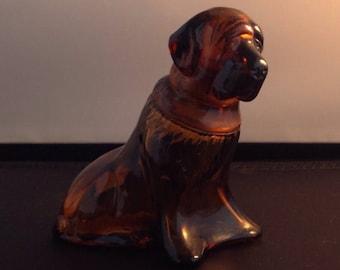 Avon Shaped Aftershave Bottle St Bernard Dog , Avon collectibles