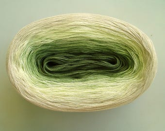 KOHLRABI II  -- 150 gr/720 yards -- Color Changing Cotton yarn   Fingering Weight