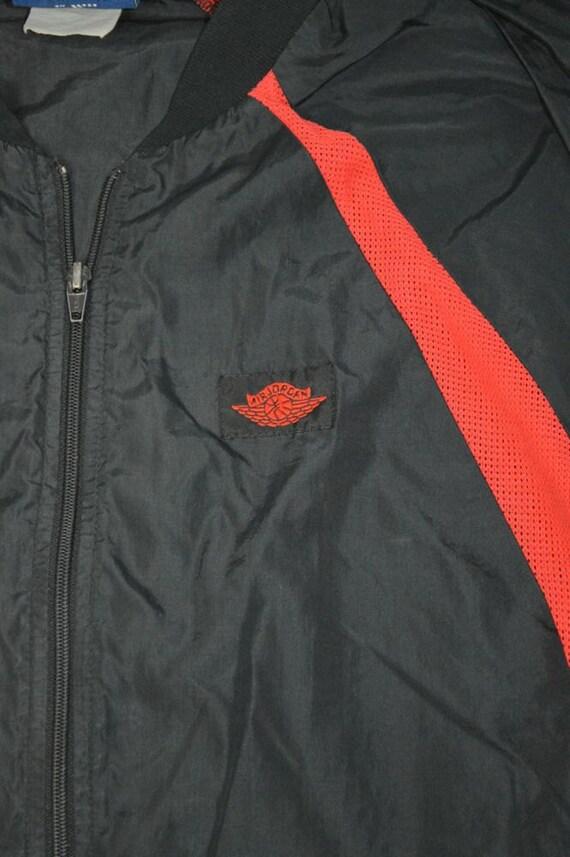 de39e7adb63 Vintage NIKE AIR JORDAN Jacket Original Wings by PaddleDownTraders hot sale